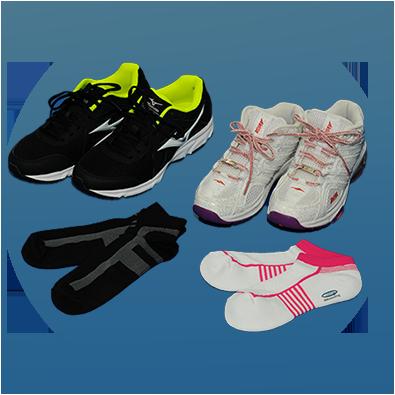 靴下&スポーツシューズ